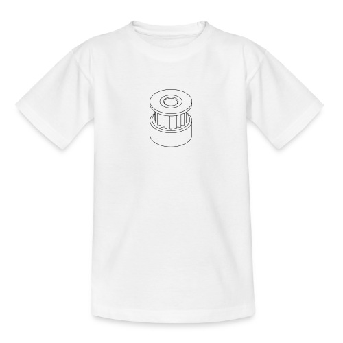20T GT2 Pulley (no text). - Teenage T-Shirt