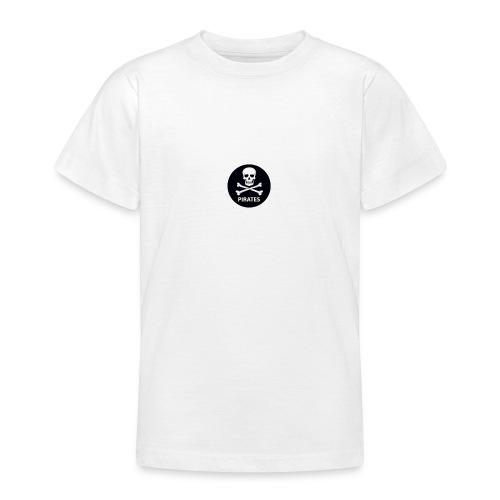 skull-and-bones-pirates-jpg - Teenager T-shirt