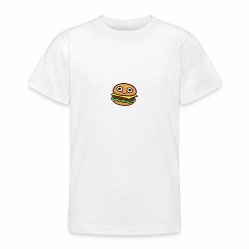 Burger Cartoon - Teenager T-shirt