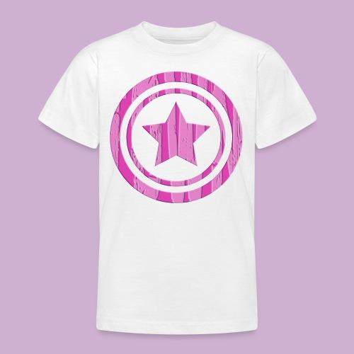 STERN IM KREIS - Teenager T-Shirt