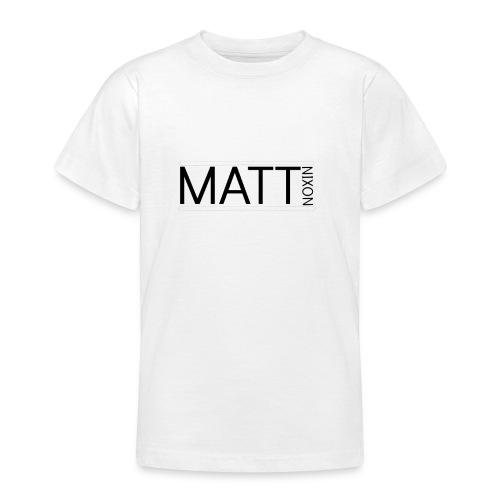 Matt logo 1 png - Teenage T-Shirt