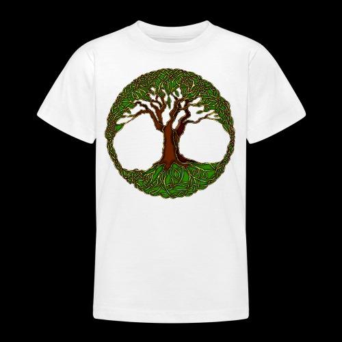 Tree of Life - colour - Teenage T-Shirt