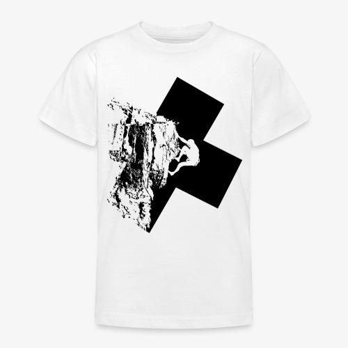 Rock climbing - Teenage T-Shirt