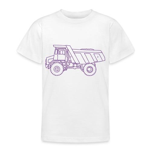 Muldenkipper, Kipplaster - Teenager T-Shirt