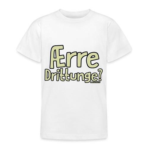 Ærre Dritt Unge 3 png - T-skjorte for tenåringer