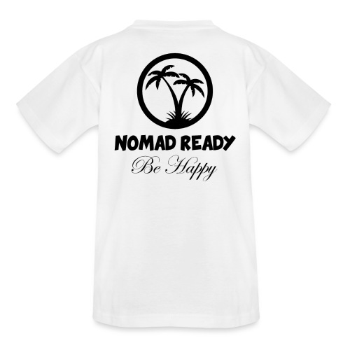 nomadready behappy - T-shirt Ado