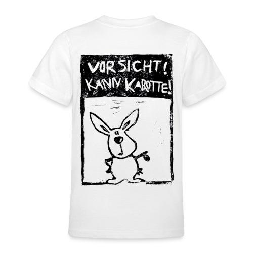 VORSICHT! KANN KAROTTE! - Teenager T-Shirt