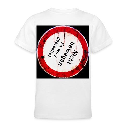 Nicht bewegen es wird gearbeitet Rangierverbot - Teenager T-Shirt