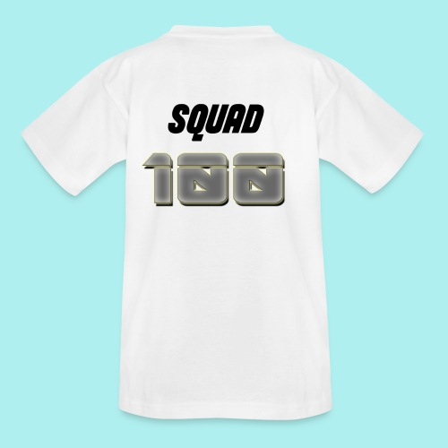 METTALIC 100 SUBSCRIBERS - Teenage T-Shirt