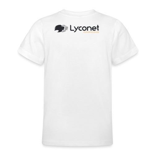 Lyconet White - Maglietta per ragazzi