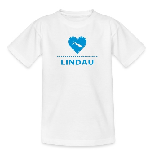 bodensee.love-local.de | Love City Lindau - Teenager T-Shirt