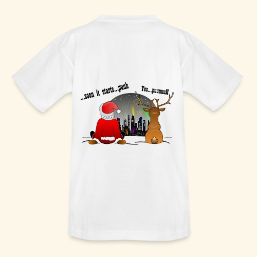 soon it starts - Teenager T-Shirt