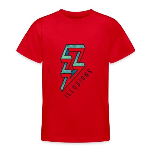 ♂ Lightning - Teenager T-Shirt