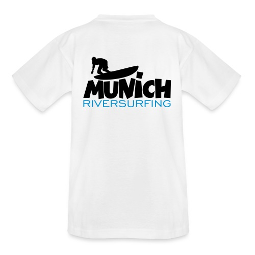 Munich Riversurfing München Surfer - Teenager T-Shirt