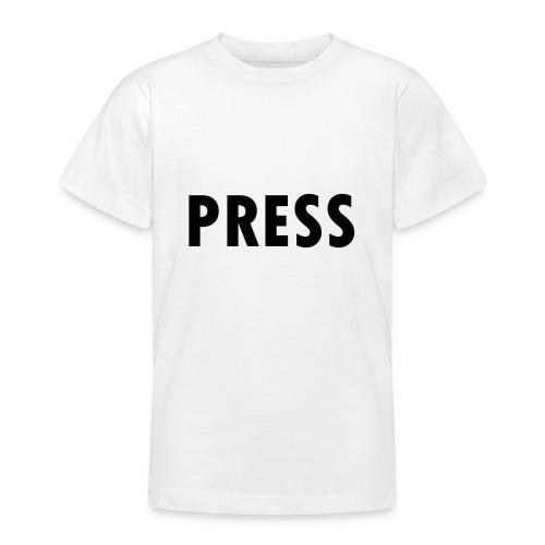 press - Teenager T-Shirt