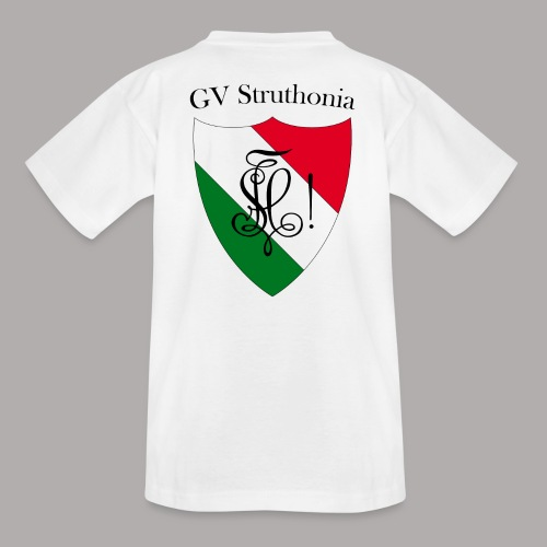 Wappen Struthonia beschriftet - Teenager T-Shirt