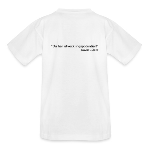 Ju jutsu kai förslag 1 version 1 svart text - T-shirt tonåring
