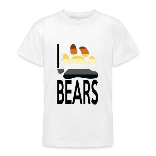 I love bears - T-shirt Ado
