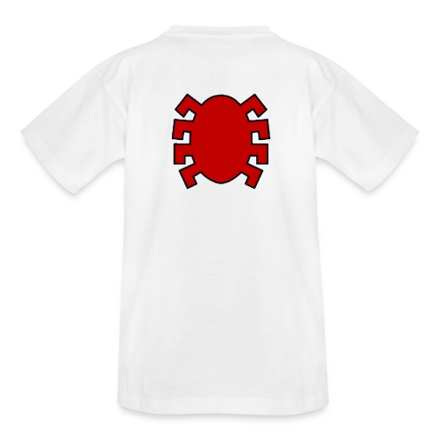spiderman back - Teenage T-Shirt