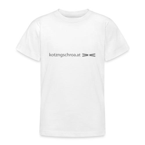 kotzngschroaat motiv - Teenager T-Shirt