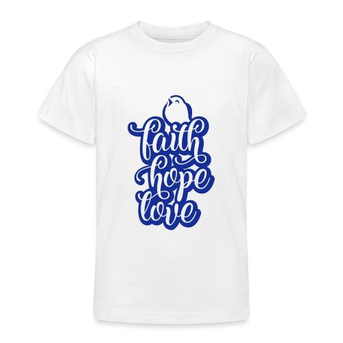 typo kinder 2016outline c - Teenager T-Shirt