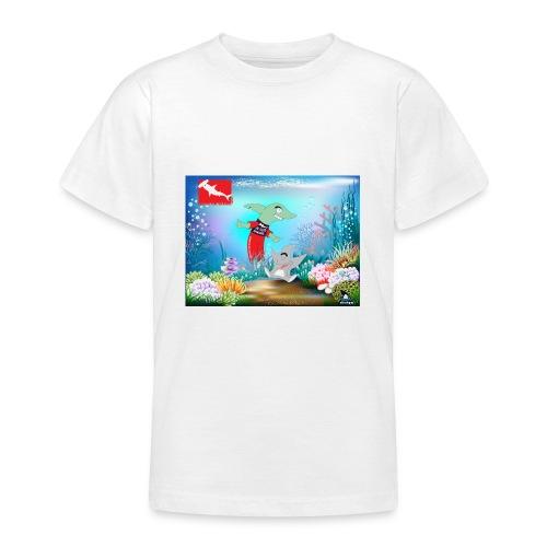 jesuis sharkie jpg - Camiseta adolescente
