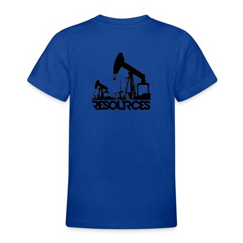 App Icon randlos schwarz - Teenager T-Shirt