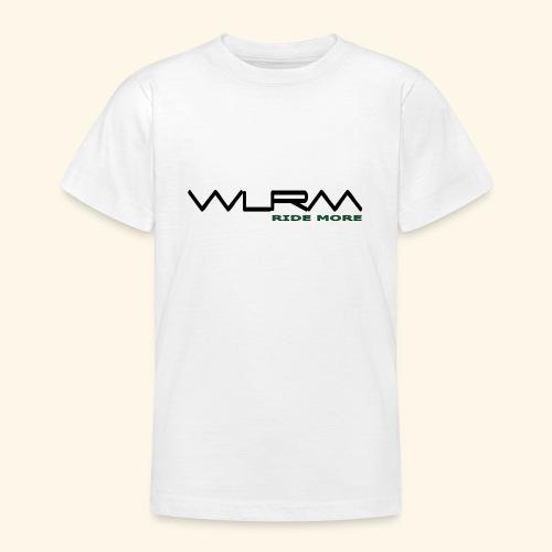 WLRM Schriftzug black png - Teenager T-Shirt
