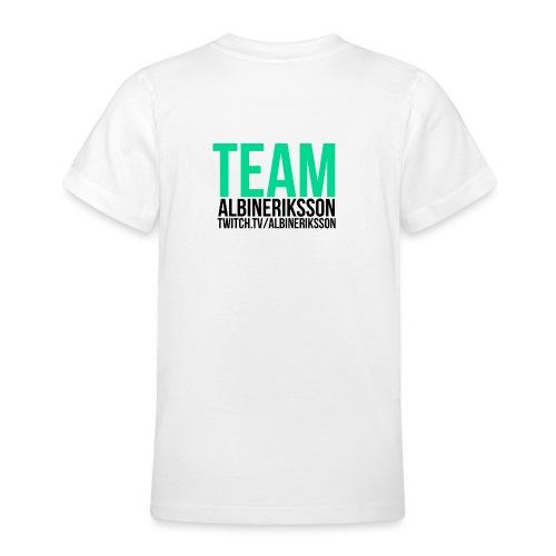 Team albinerikss0n Svart - T-shirt tonåring