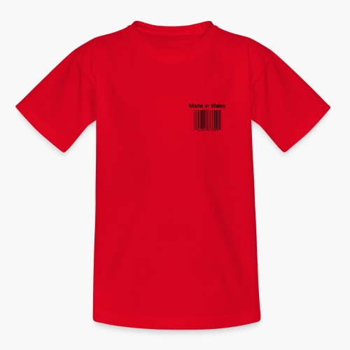 Made in Wales - Teenage T-Shirt