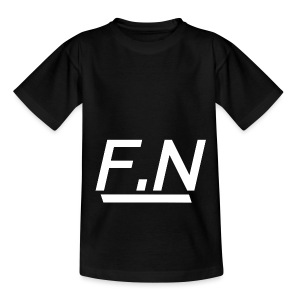 F.N Logo (Zwart-Shirt) Mannen - Teenager T-shirt