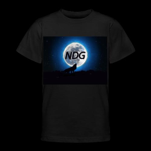 Ylande varg - T-shirt tonåring