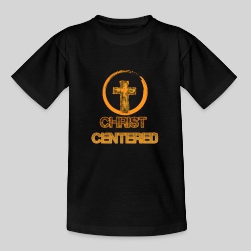 Christ Centered Focus on Jesus - Teenager T-Shirt