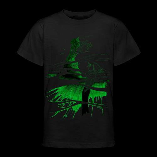 Ein Ort (grün) - Teenager T-Shirt