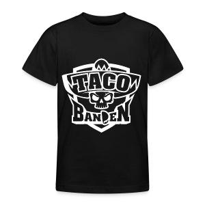 TB-Hoodie White - T-skjorte for tenåringer