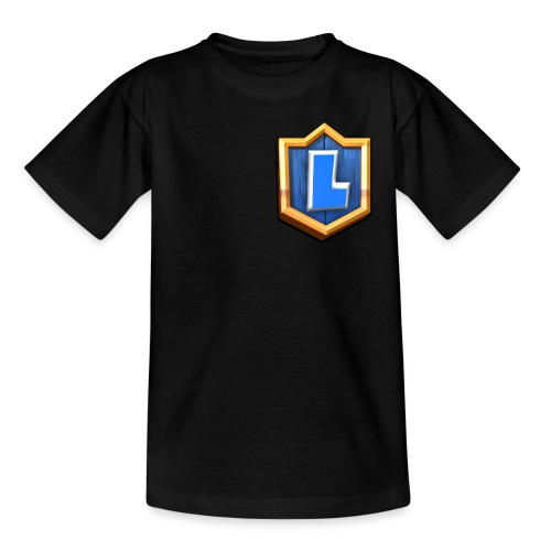 LuFresh Logo Blau - Teenager T-Shirt