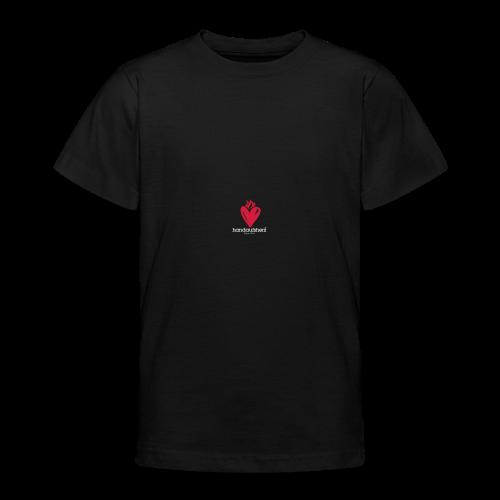 Hand aufs Herz - Teenager T-Shirt