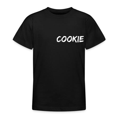 Diseño blanco de la galleta - Camiseta adolescente