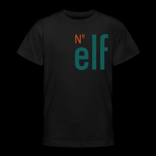 No. elf Logo - Teenager T-Shirt