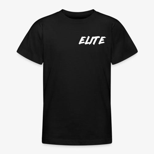 Elite-White - Teenage T-shirt