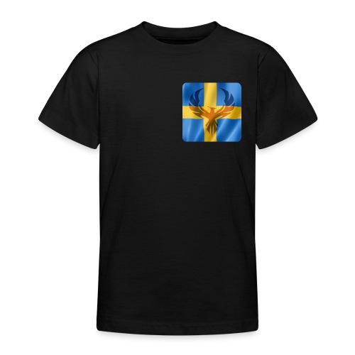 Swedish Phoenix klara färger - T-shirt tonåring