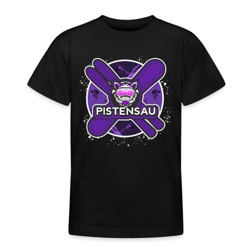 PistenSau Dunkle Orchidee - Teenager T-Shirt
