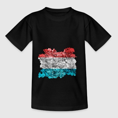 Luxembourg vintage flag - Teenage T-shirt