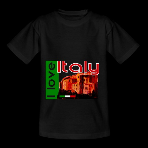 I love Italy! Trikolore - Teenager T-Shirt