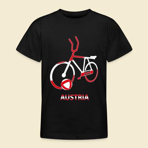 Radball | Austria Rad - Teenager T-Shirt