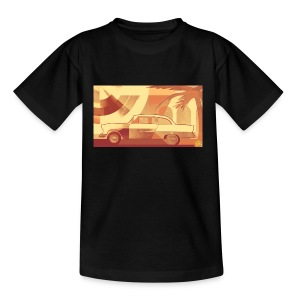 Cuba Car - Teenager T-shirt
