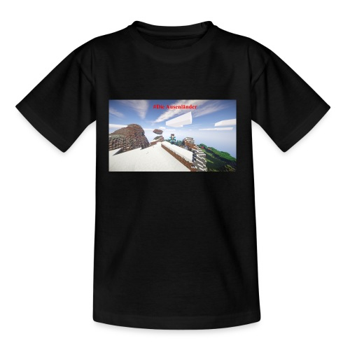 Minecraft Ausenländer - Teenager T-Shirt