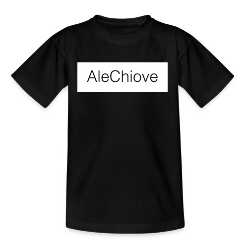 T-Shirt AleChiove - Maglietta per ragazzi