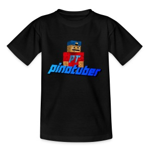Pinotuber Minecraft - Teenager T-shirt