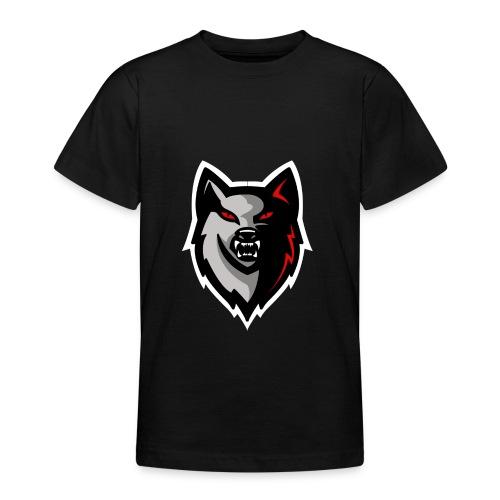Craigy B! Wolf Design. - Teenage T-shirt